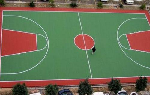 室外篮球场防滑地坪